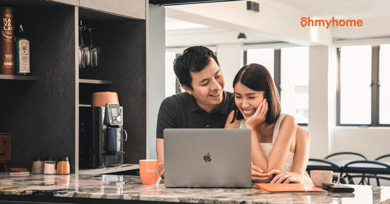 Singaporean couples buying a resale flat without property agent