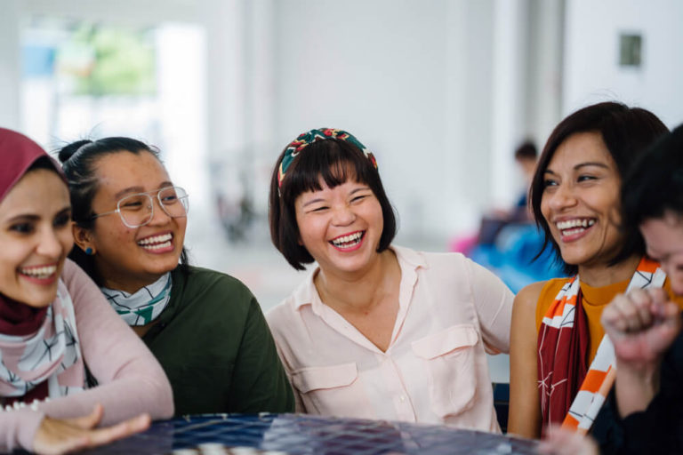 a diverse group of woman - hdb ethnic