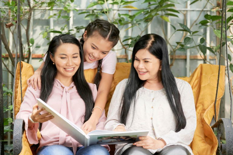 A family considering to avail a HDB's Multi-Generation Priority Scheme (MGPS)