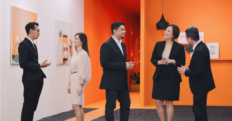ohmyhome property agents interviewed by ceo rhonda wong